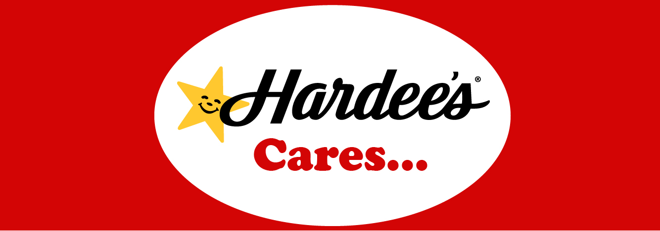 Hardee's Cares post