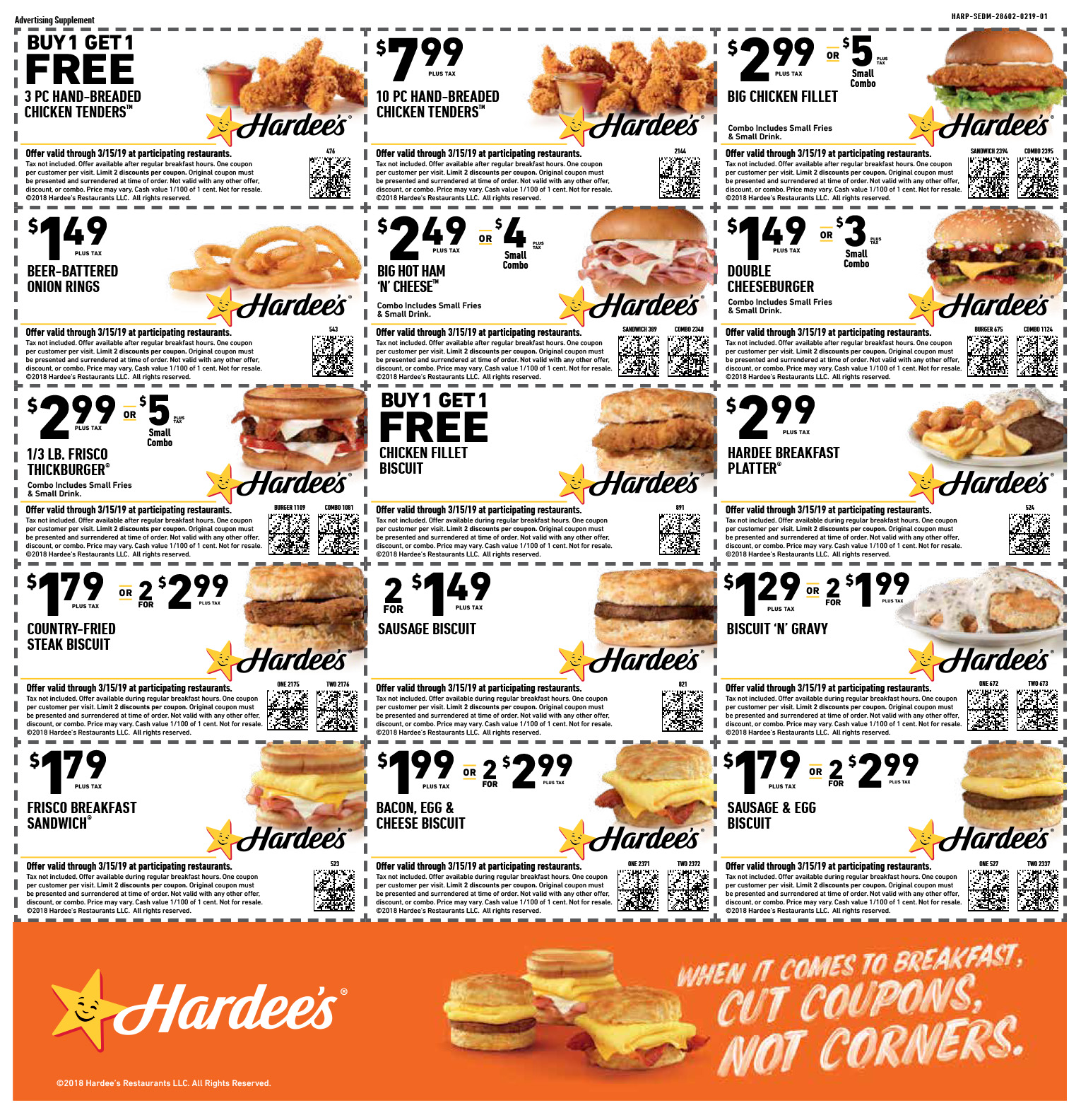 picture regarding Hardee's Printable Coupons named Hardees Discount coupons In direction of Print Equivalent Key phrases Guidelines